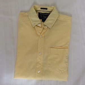 Mens Woolrich PinPoint Oxford Size S Long Sleeve